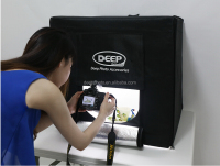 80cm*80cm LED video light box Studio Video Lighting boxfor Photography with dimmer switch plus 4LED