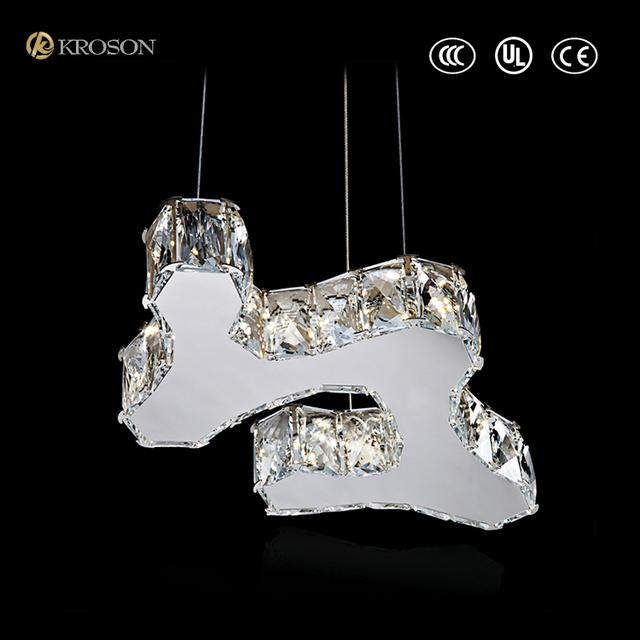 Cheap Modern LED Crystal Pendant Lamp Pendant Light Fixture Lighting Chandelier