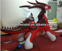 hot inflatable dragon