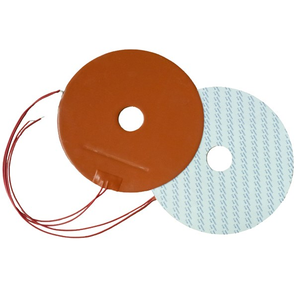 Silicone Industrial Heated Blanket Silicone Rubber Heater For Electrical Heating