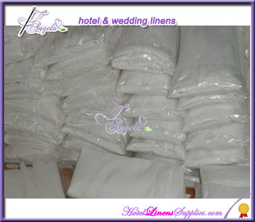 white polyester Christmas chair covers, cheap banquet chair covers for Christmas Parties decorations