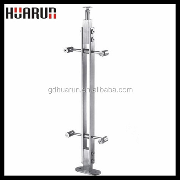 Outdoor 304 stainless steel free standing handrails