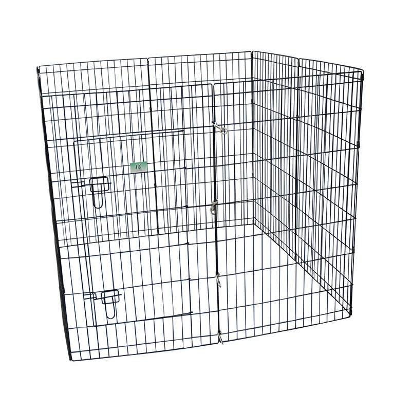 metal enclosure Folding double dog kennel