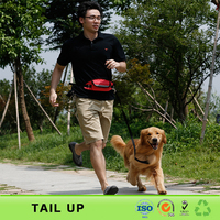 Customized Supreme Outdoor Running Hands Free Dog Leash