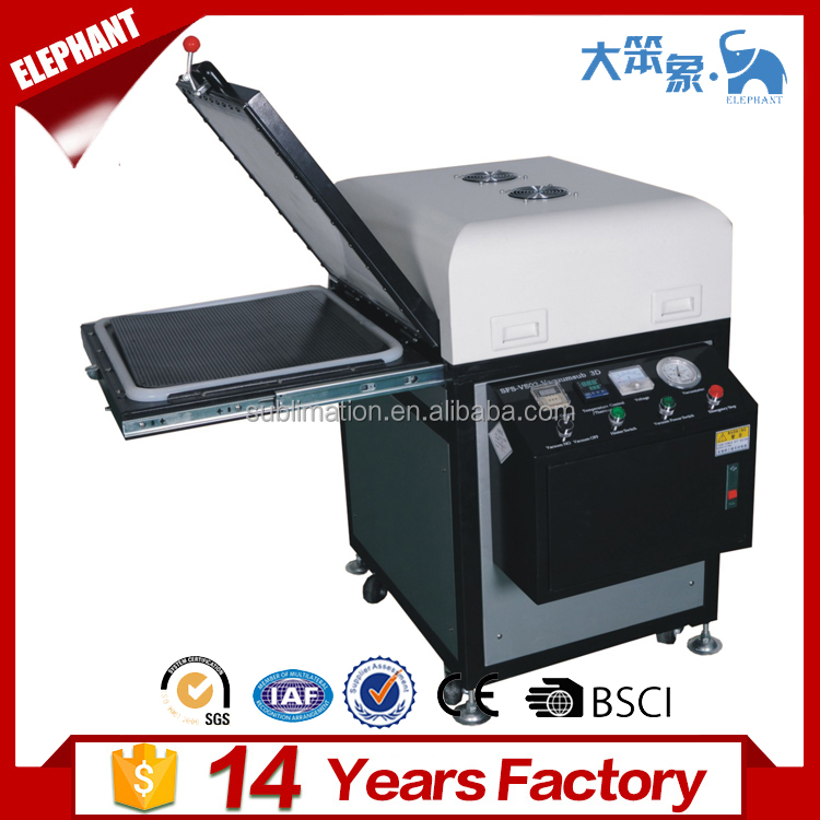 Hot heat transfer machine 3d sublimation vacuum machine 3d iphone case sublimation printing machine