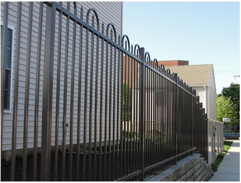 Waterproof fence easy install outdoor fence for crowd for Easy fence installation
