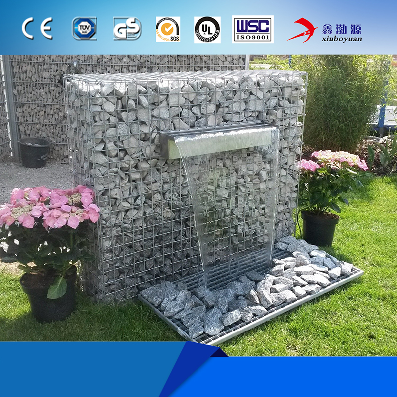 Xinboyuan Best Price Gabion Box Wire Mesh / Gabion Fence For Retaining Wall Design