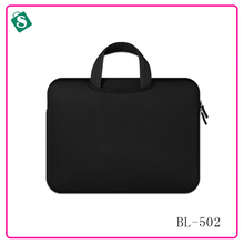 solid color logo size customization hand laptop bag for ladies
