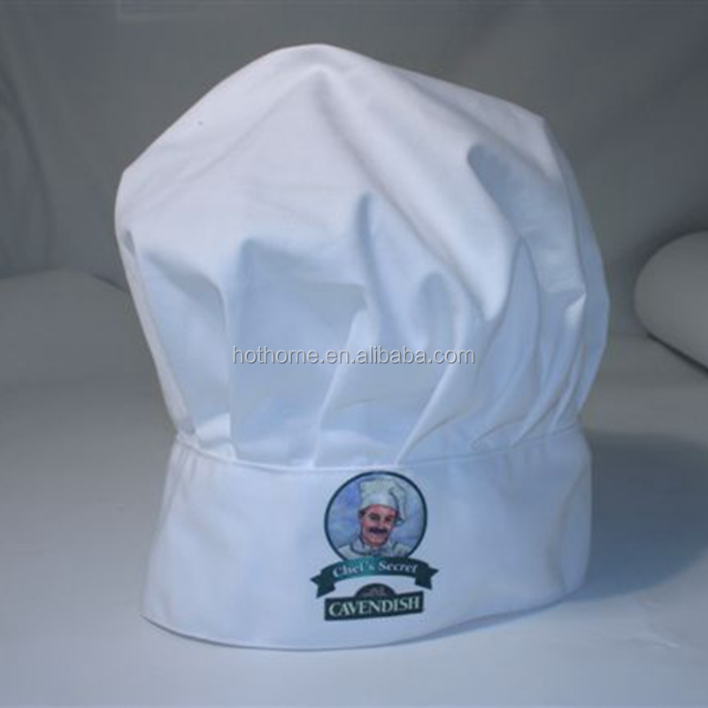 Custom Chef Cook Cap White Chef Hat
