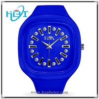 2014 newest fashion style unisex custom logo cheap japan movt watch manual