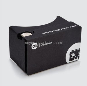 Google Cardboard V2 With NFC ,Custom Logo Print Google cardboard 2.0 3D vr glasses for promotional gifts