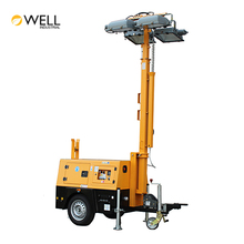 Hot Sale Heavy Duty Hydraulic Mast Light Tower Industrial Solar Led Portable Light Towers