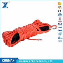 J-MAX 12strand electric synthetic winch ropes for ATV car