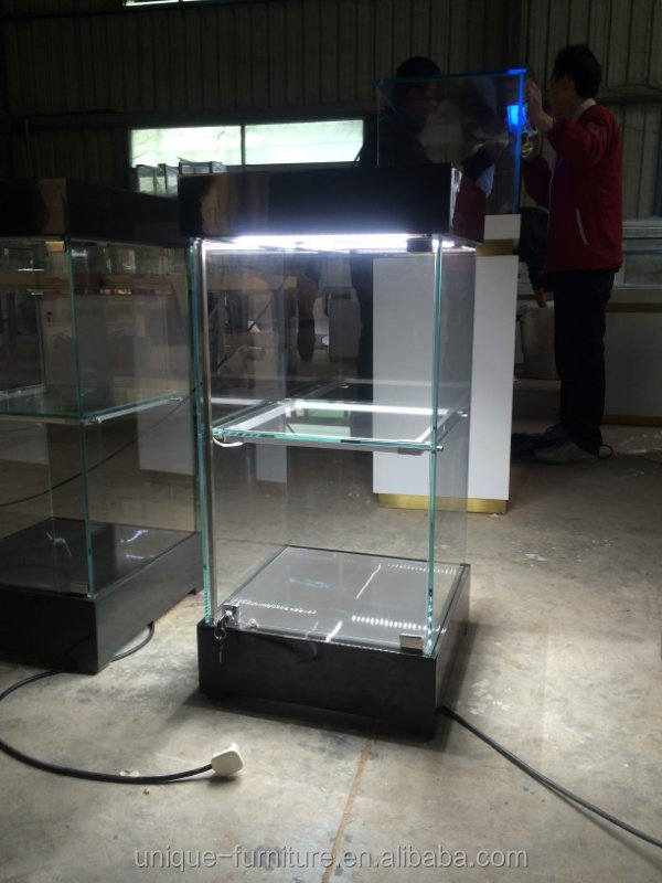 2016 Crystal Jewelry Display Cabinet for display showcase in shopping mall