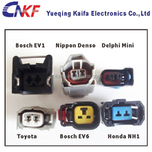 Toyota,Nippon,Delphi,Ev1,Ev6 2 Way Male and Female Fuel Injector Auto Waterproof Connector