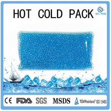 Instant ice pack cold packs Eco-friendly Gel Beads Hot Cold Pack /Ice Pack