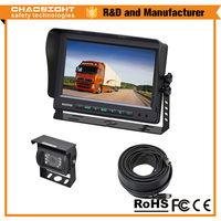 Latest Digital 9 Inch LCD Monitor Panel Car Sunshade Rearview Camera with Monitor