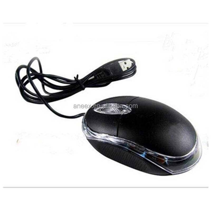 cheap computer accessory optical wired usb pc mouse for computer