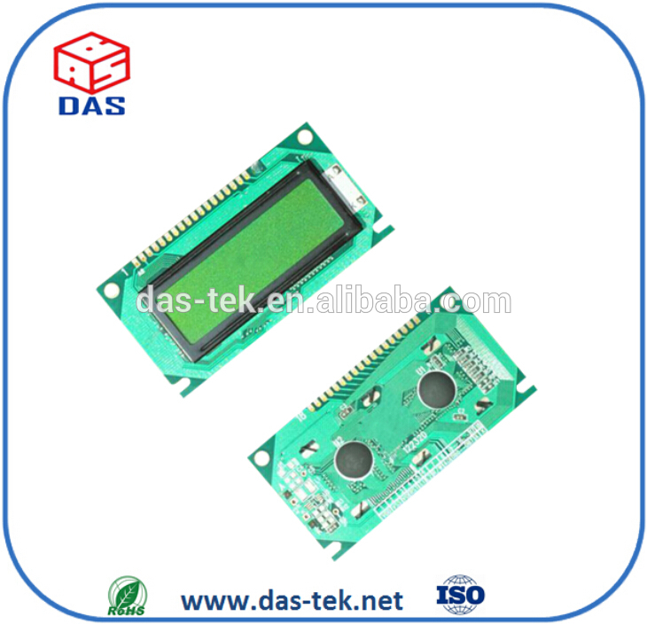 lcd display 3 digits 7 segments reflective