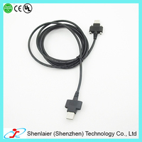 MALE to A MALE USB Extension Cable Cord Extender For PC Laptop