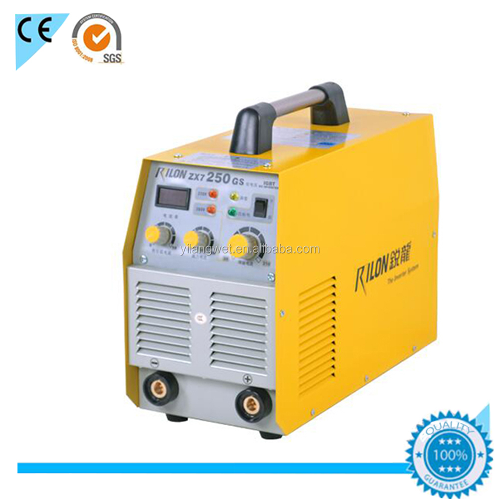 Rilon ZX7-250GS good quality mma inverter welding machine 250