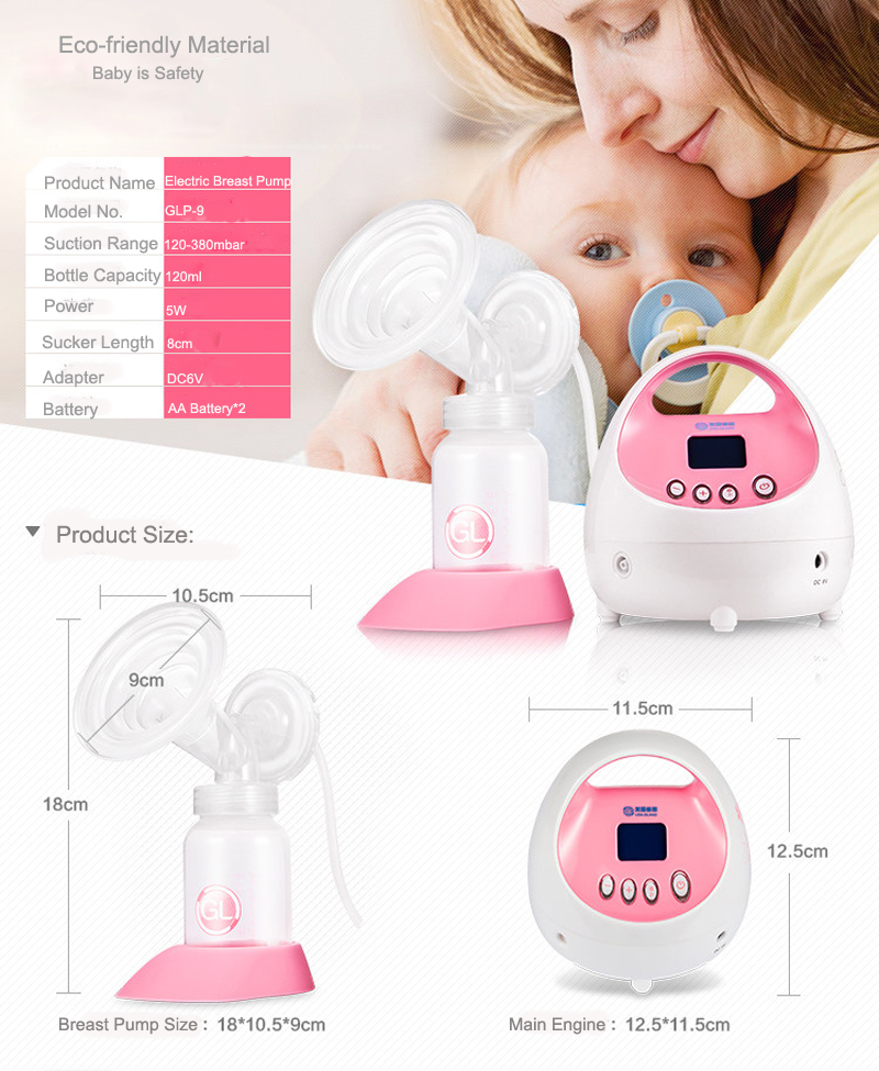 Baby Care Products Breast Pump Electric BPA Free
