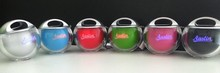 Super loud mini portable ball speaker mini digital speaker with hooker
