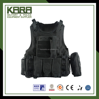 Breathable and comfortable Tactical Vest, black military army vest