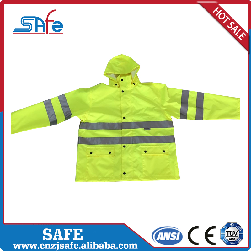 Staff Uniforms women's reflective running hi vis security jacket