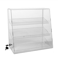 Clear Acrylic display box showcase, Plexiglass custom display cabinet, Perspex display stand