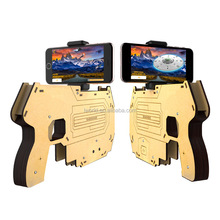 Plastic ar gun for 3D Virtual Fighting Game Joystick ar-gun For Mobile Phone toy gun