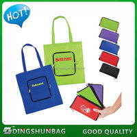 Best quality hot selling foldable shopping bag with printed logo