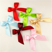 Low price best sell orange ribbon bows for gift packing