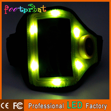 Running safety led armband for iphone