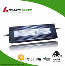 waterproof electronic 12V 200W triac dimmable constant voltage dimmable led driver