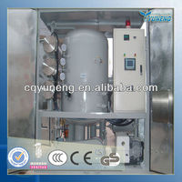 Vacuum transformers oil filtering plant/ Waste insulation oil filtration purifier machine/ transformer oil filter plant