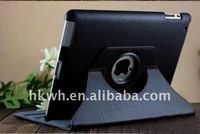 360 Degree Rotate Stand Case for ipad, Rotary Stand Leather Case for ipad