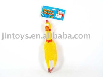 32CM Chicken with sound,Shrilling chicken toys