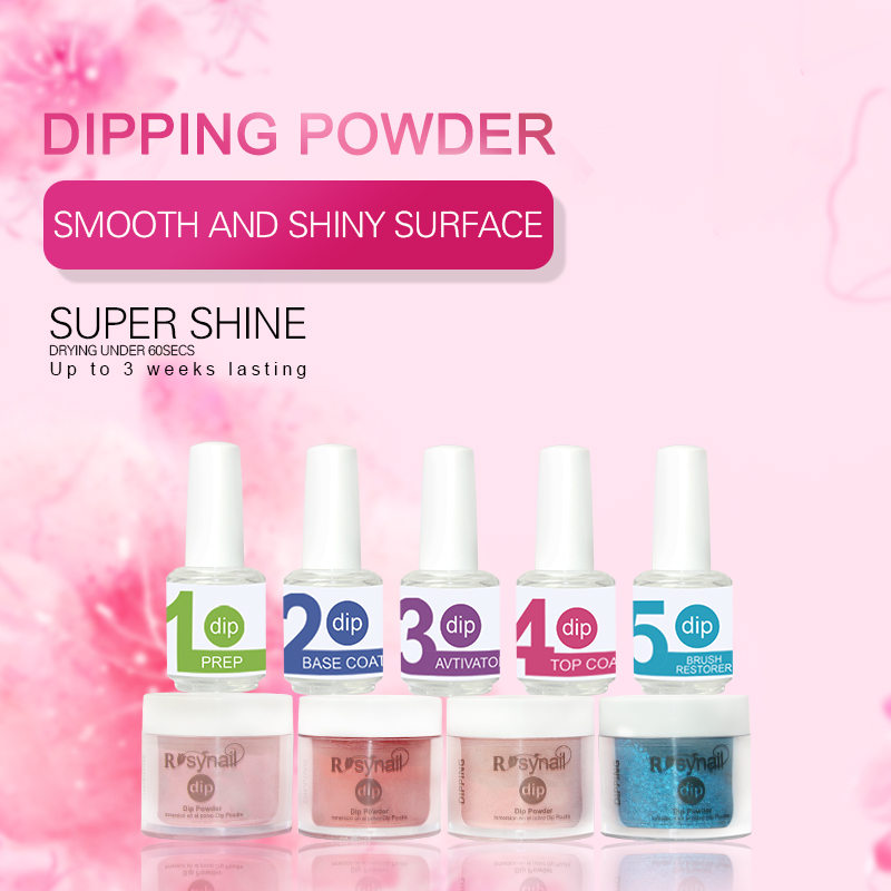 Best seller dipping acrylic powder color matching gel polish and nail polish ,3 in 1 set