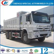 Factory direct sale sinotruk howo stone dumper for hot sale
