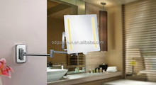 touch switch cosmetics led magnify vanity illuminated makeup mirror