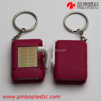 led solar keychain flashlight,wholesale china custom made cheap keychains in bulk,led keyring