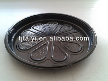 ROUND PLASTIC FOOD TRAY