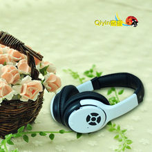 2014 New Style Leather Earmuff Bluetooth Headphone For Winter