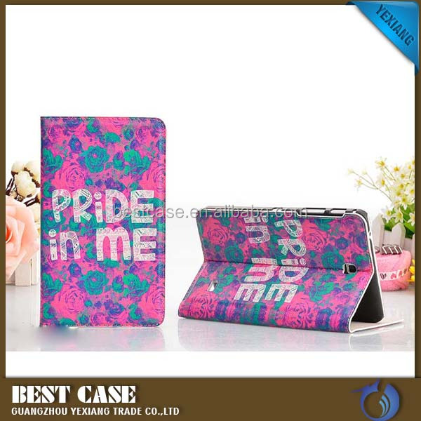 China supplier leather case cover for apple ipad mini 2 3 4 stand cover