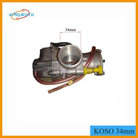Scooter ATV 4-stroke CVK performance koso 34mm 300cc atv carburetor