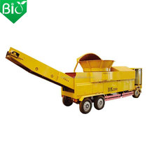 Special for production power plant wood chip crusher