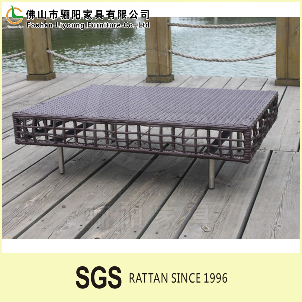 2016 High quality and best price for New Design Rattan Garden low Seat Sofa made in china