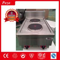 PEZO hotel supplies commercial desktop 2 plate electric burner