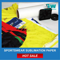 55g Sublimation Paper fast dry rolls for MS high speed inkjet printer China Factory Supplier